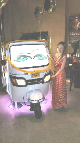 Tuk Tuk Photo Booth For Hire