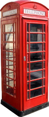 red telephone box photo booth hire